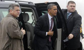 President Obama in Atherton