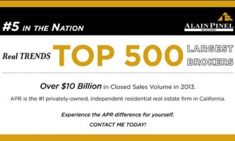 Alain Pinel Realtors Now Number 5 in Nation